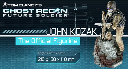 Figura Ghost Recon Future Soldier Kozak