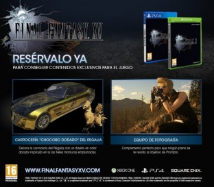 Comprar Final Fantasy XV Edicion Day One | Videojuego PlayStation 4 / PS4