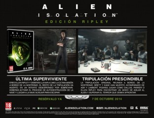 Comprar Alien: Isolation Edicion Ripley | Videojuego PlayStation 3 / PS3