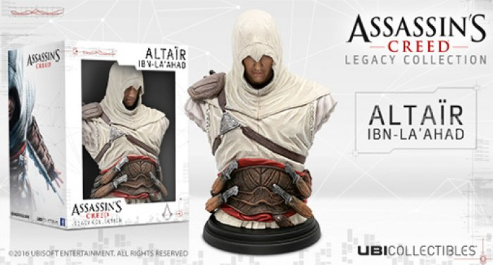 Busto Assassins Creed