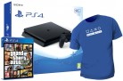 Comprar PS4 Consola Slim 500GB + Grand Theft Auto V en PlayStation 4 a 319.99€