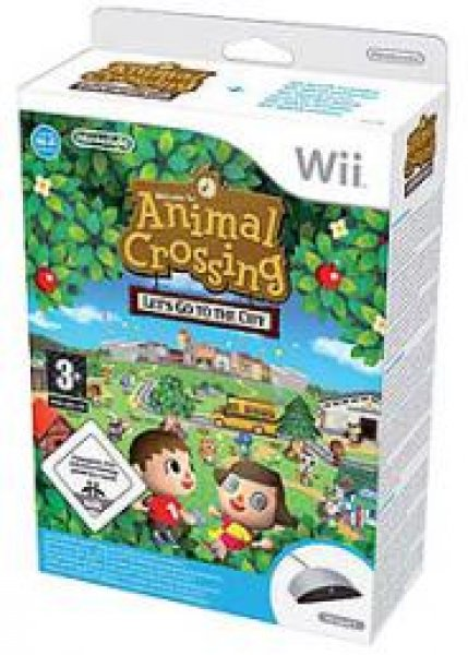 Animal Crossing: Lets Go To The City + Wii Speak
