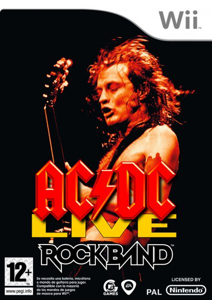 AC/DC Live Rock Band Song Pack