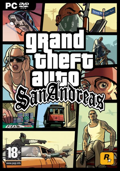 Grand Theft Auto San Andreas Pc Full [español]