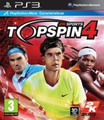 Comprar Top Spin 4 en PlayStation 3 a 24.99