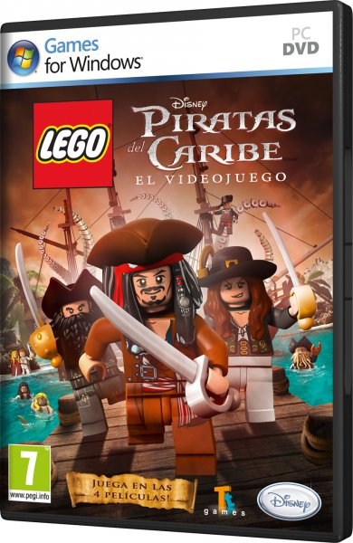 Lego Piratas Del Caribe PC